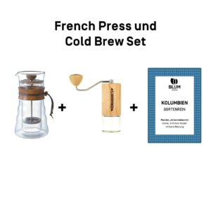 French Press und Cold Brew Set