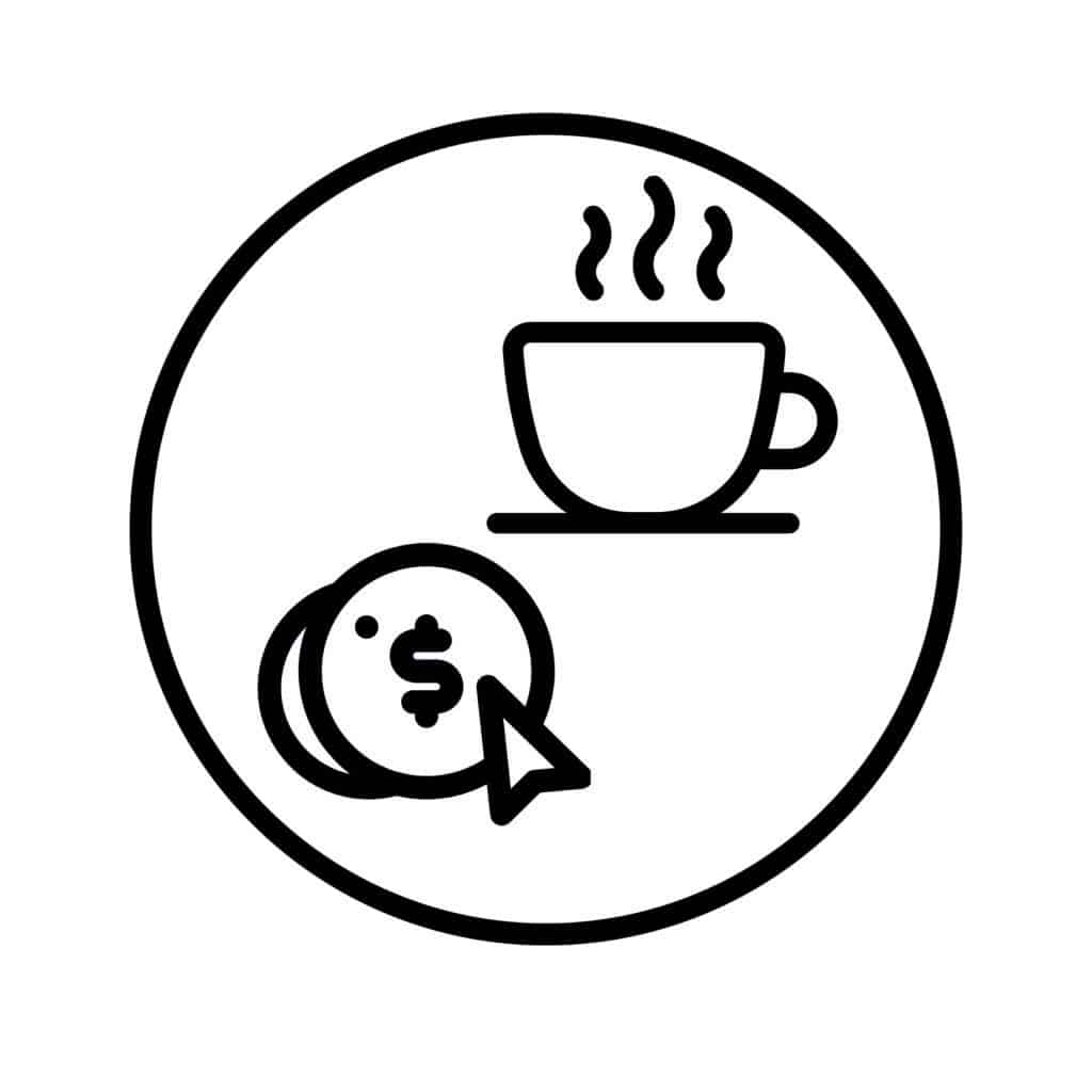 coffee as a service icon